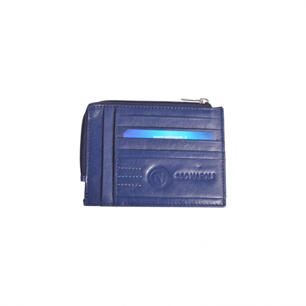 SSC Napoli Blue Document Holder