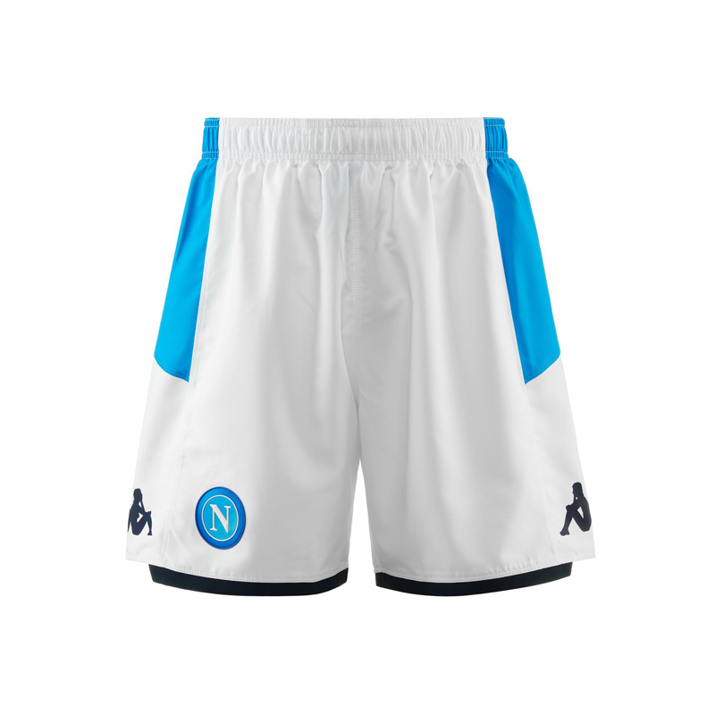 SSC Napoli White Shorts 2019/2020