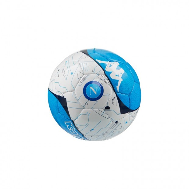 SSC Napoli White/Sky Blue Football size 2