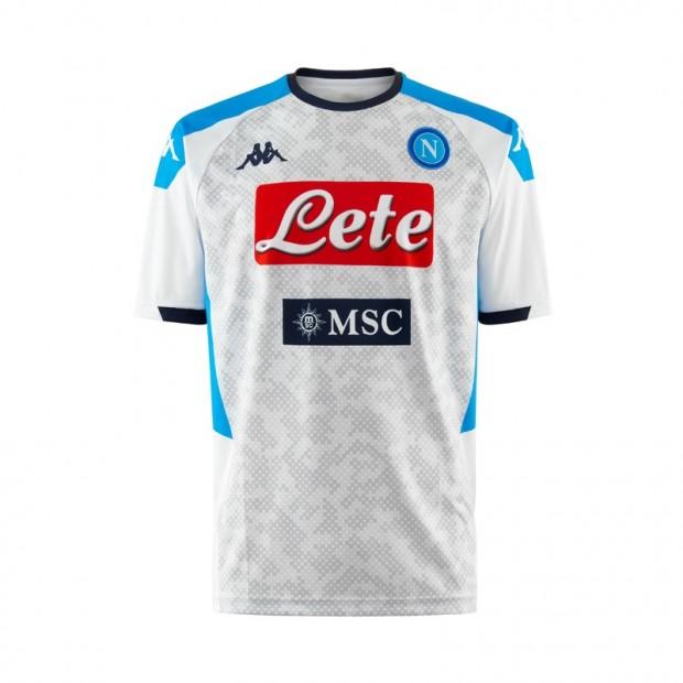 SSC Napoli Maglia Replica Bianca 2019/2020