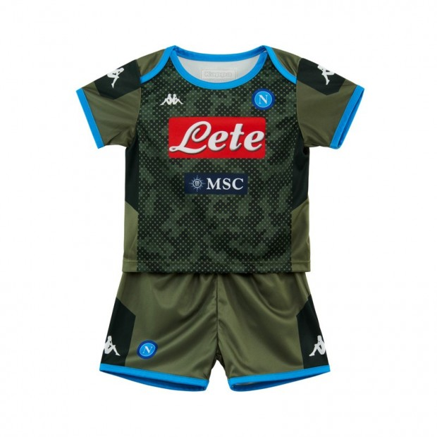 SSC Napoli Set Gara Away Infant 2019/2020
