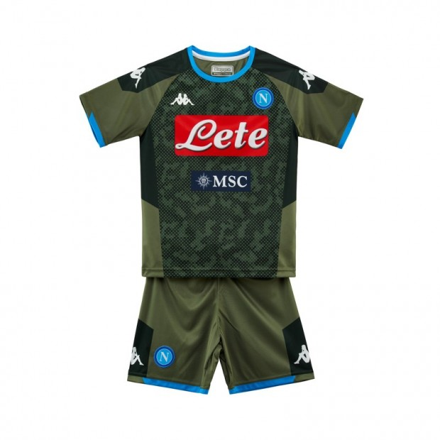 SSC Napoli Away Kit for Kids 2019/2020