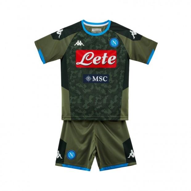 SSC Napoli Away Kit for Kids 2019/2020