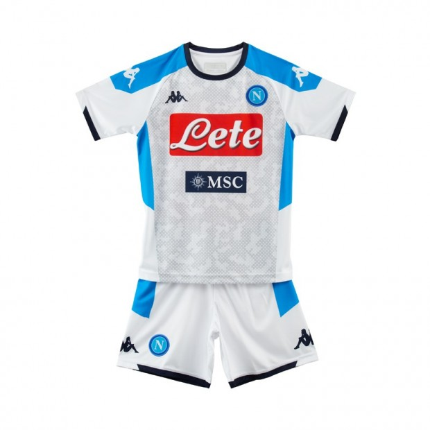 SSC Napoli Third Kit for Kids 2019/2020