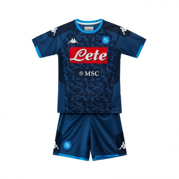 SSC Napoli Set Gara GK Blu JR 2019/2020