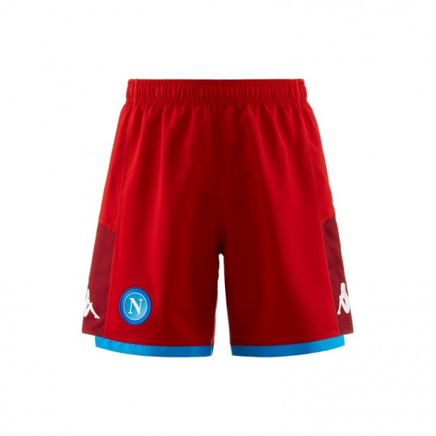 SSC Napoli Red Shorts 2019/2020