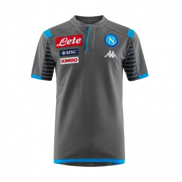 SSC Napoli Grey Representation Polo Shirt 2019/2020