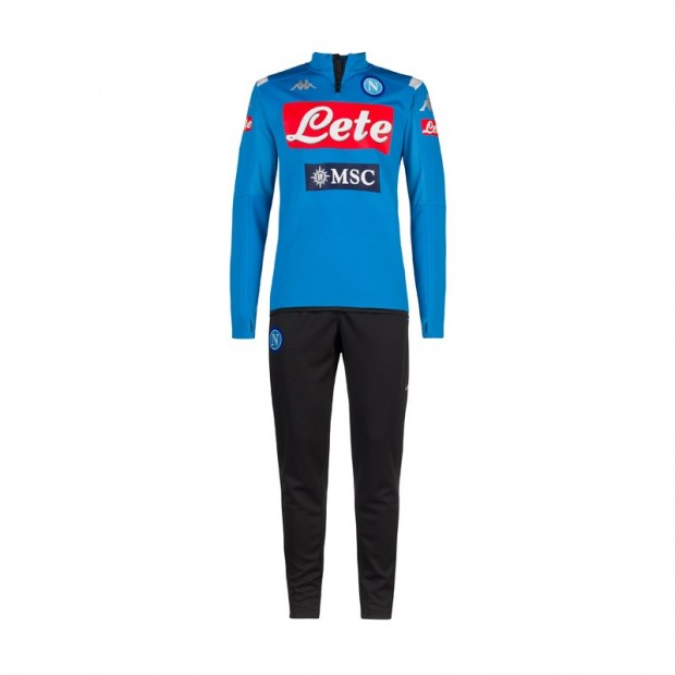 SSC Napoli Sky Blue Training Tracksuit 2019/2020 Youth