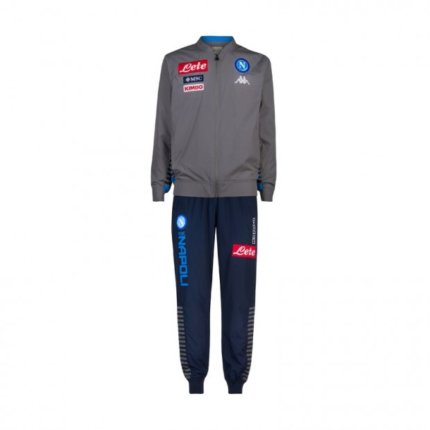 SSC Napoli Micro Grey Representation Tracksuit 2019/2020 Kid