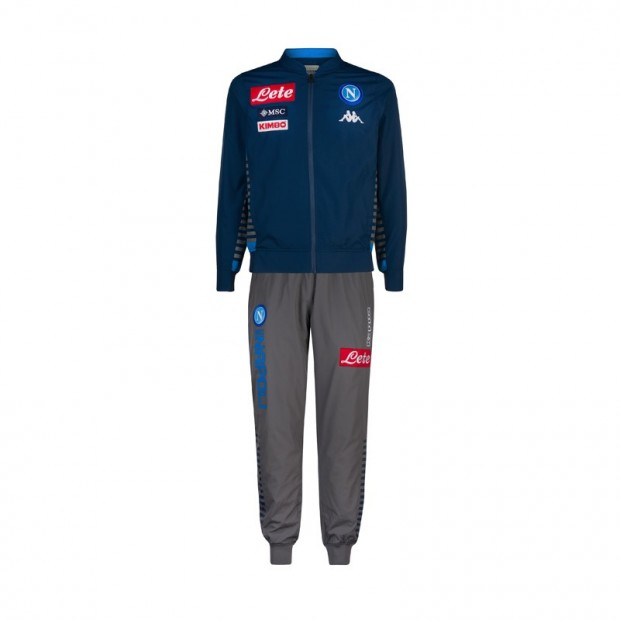 SSC Napoli Micro Blue Representation Tracksuit 2019/2020 Youth
