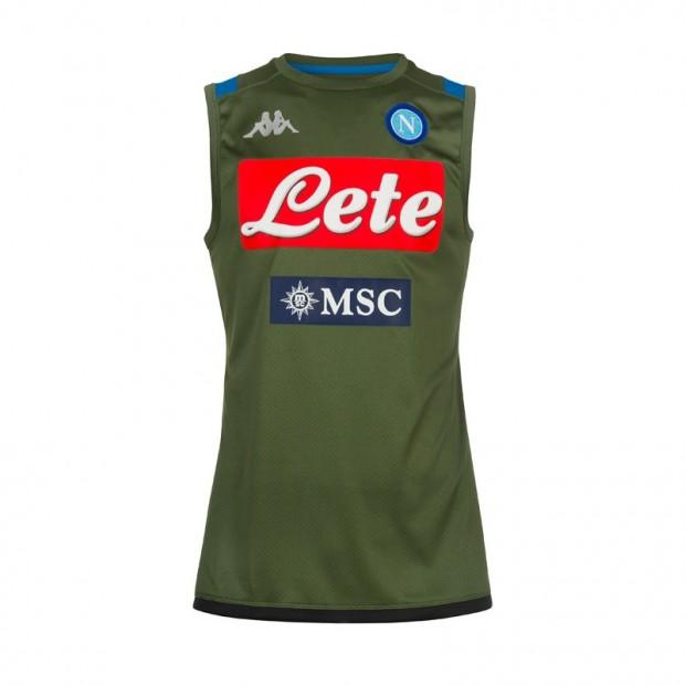 SSC Napoli Smanicato Allenamento Verde 2019/2020