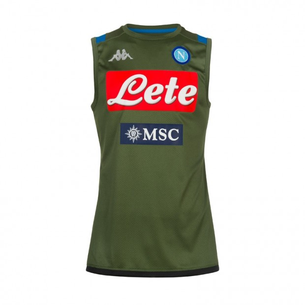 SSC Napoli Green Training Sleeveless Shirt 2019/2020
