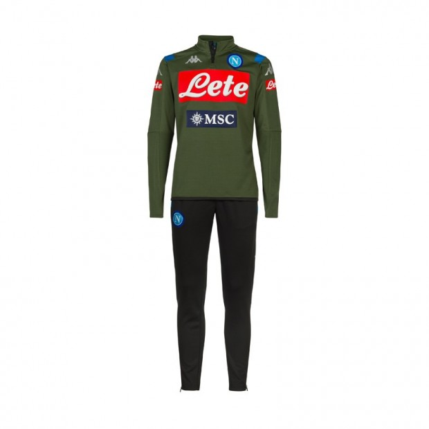 SSC Napoli Green Training Tracksuit 2019/2020