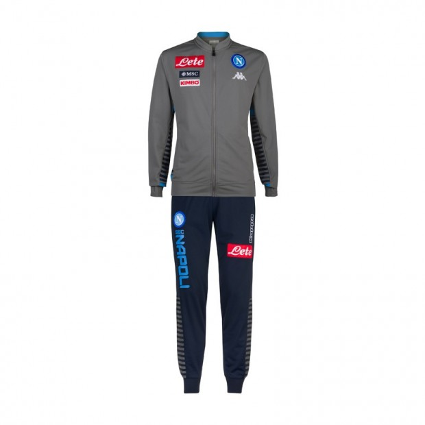 SSC Napoli Grey Representation Tracksuit 2019/2020 Kid