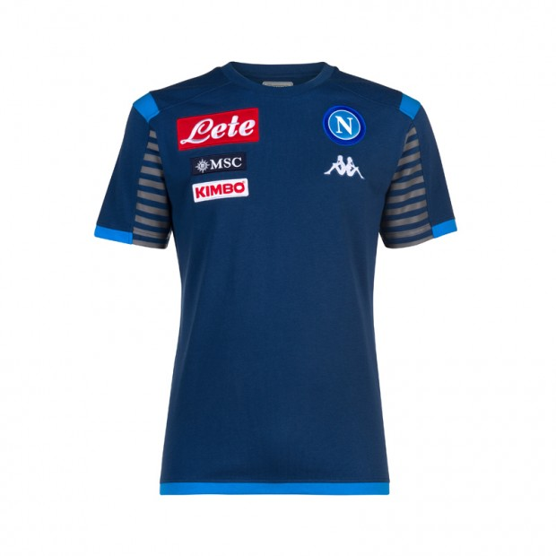 SSC Napoli T-Shirt Rappresentanza Blue Deep 2019/2020 JR