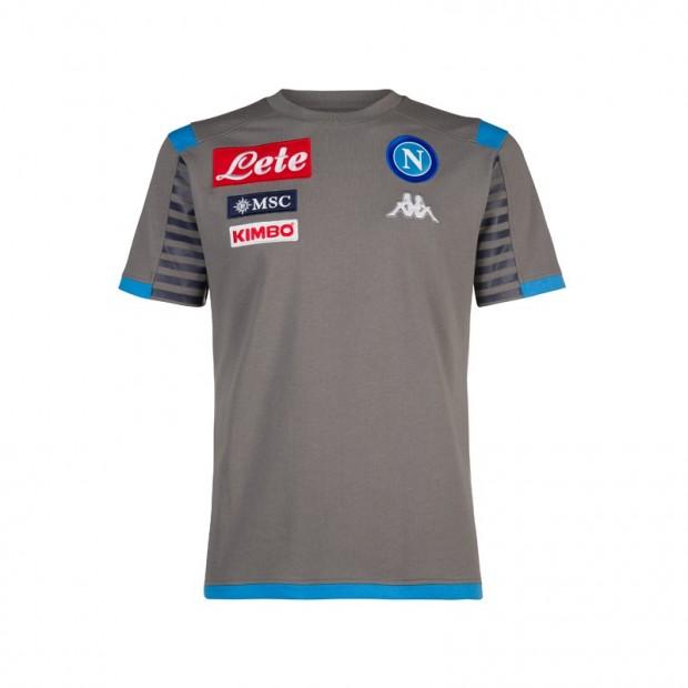 SSC Napoli T-Shirt Rappresentanza Grigia 2019/2020 JR