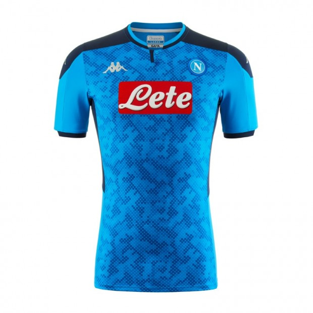SSC Napoli Europa Home Match Shirt 2019/2020