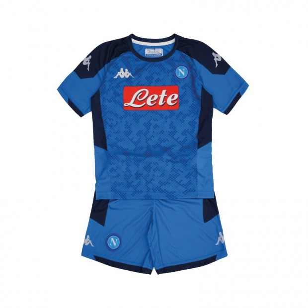 SSC Napoli Europa Home Kit for Kids 2019/2020