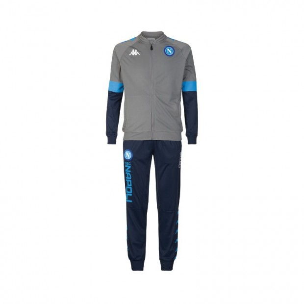 SSC Napoli Europa Grey Representation Tracksuit 2019/2020 Youth