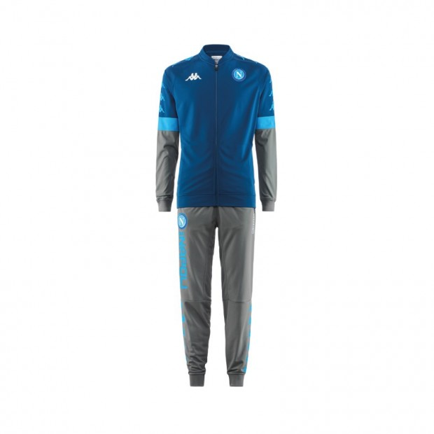 SSC Napoli Europa Blue Representation Tracksuit 2019/2020 Youth
