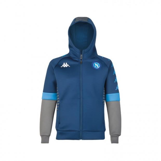 SSC Napoli Felpa Rappresentanza Blu Euro 2019/2020