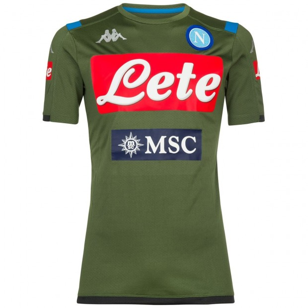SSC Napoli Maglia Allenamento Verde 2019/2020