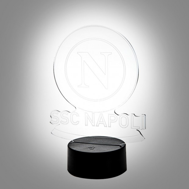 SSC Napoli 3D Night Lamp
