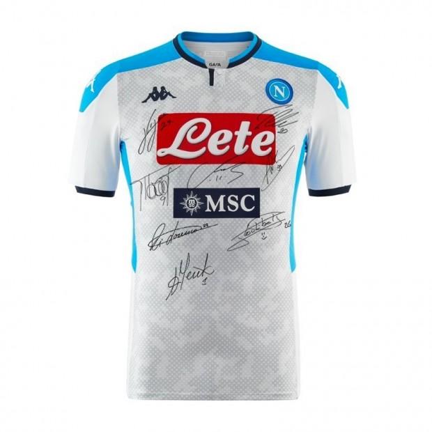SSC Napoli Autographed Third Match Shirt 2019/2020