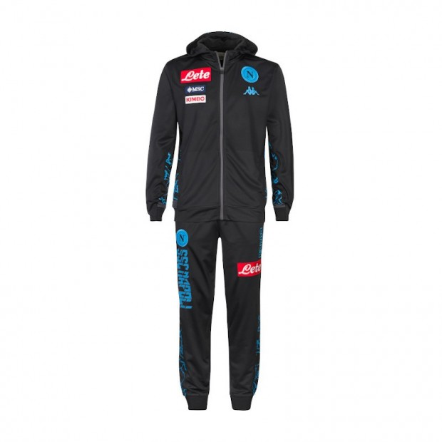 SSC Napoli District Representation Tracksuit with Hood 2019/2020 Youth