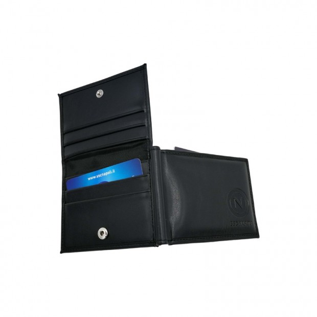 SSC Napoli Black Card Holder