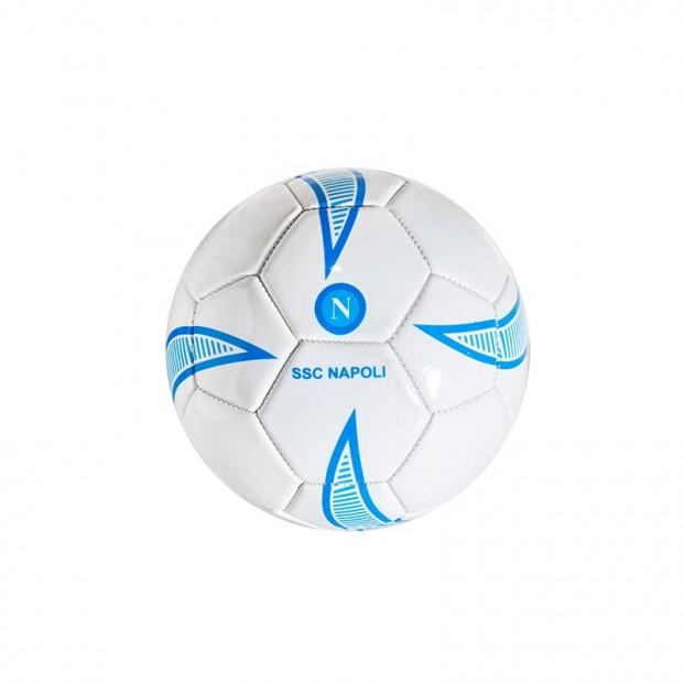 SSC Napoli Miniball Bianco/Azzurro