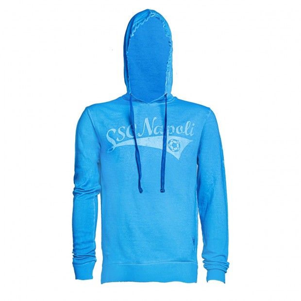 SSC Napoli Light Blue Soccer Team Hoodie