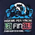 T-Shirt SSC Napoli Insieme per Vincere Blu