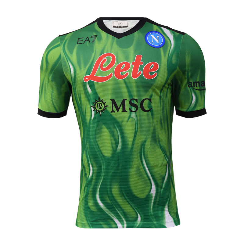 SSC Napoli Maglia Gara Portiere Verde 2021/2022