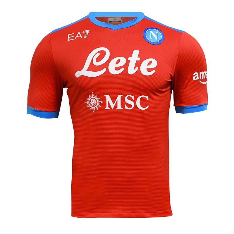 SSC Napoli Maglia Gara Fourth 2021/2022