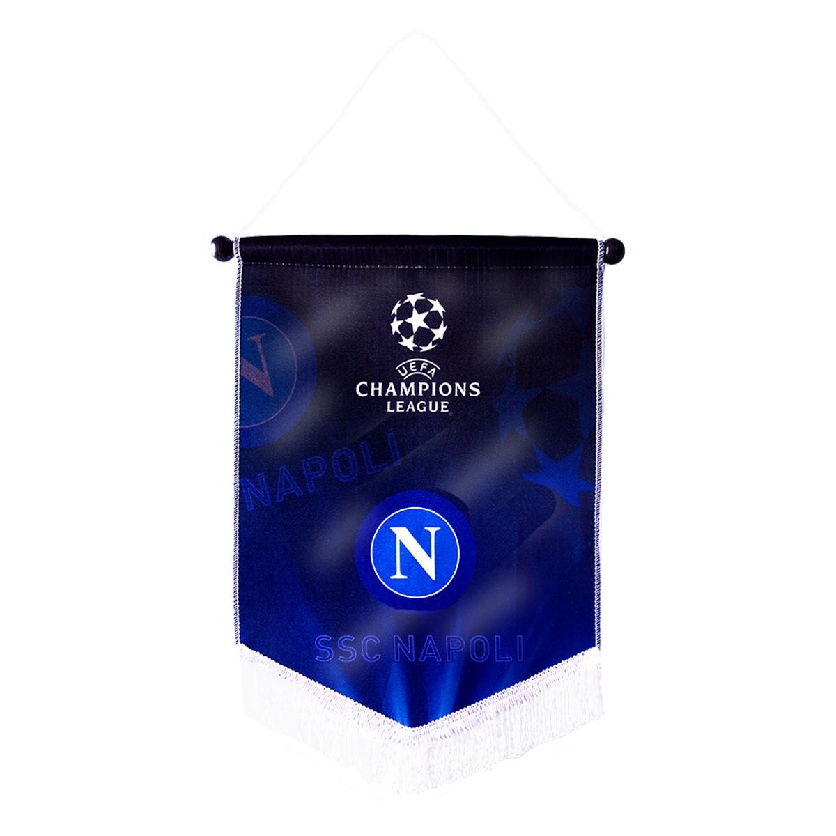Uefa champions league gagliardetto ufficiale ssc napoli
