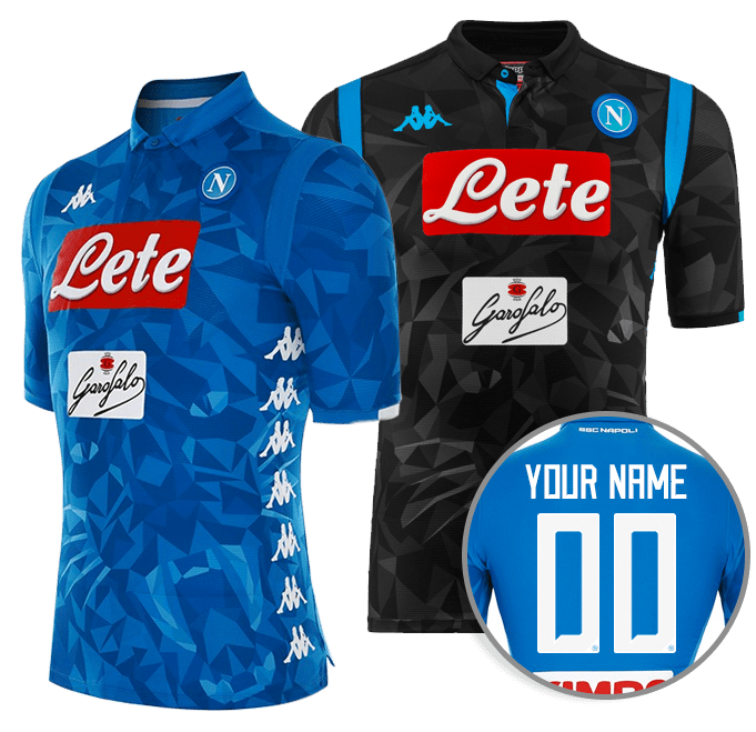 Customize your match shirt. Choose your favorite SSC Napoli ... 5db8cd3cca932